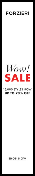 THE WINTER SALE at FORZIERI.COM - 120x600
