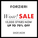 THE WINTER SALE at FORZIERI.COM - 125x125