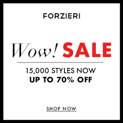 New Year Sale at FORZIERI.COM - 250x250