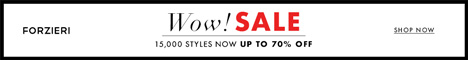New Year Sale at FORZIERI.COM - 468x60