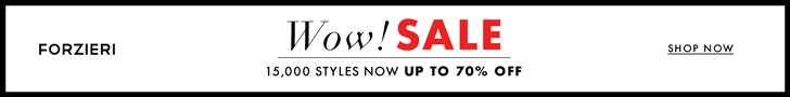 Winter Luxury Sale at FORZIERI.COM
