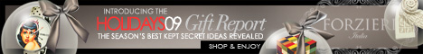 HOLIDAYS GIFT REPORT at FORZIERI.COM