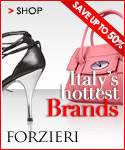 Save up to 50% on Italy's Hottest Brands