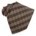Click Here for More information or to Buy online Brown Diagonal Stripes Silk Tie