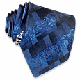 Click Here for More information or to Buy online Shimmering Blue Shades Jaquard Silk Tie