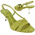 Mint Suede Slingback Shoes   Manolo Likes!
