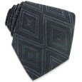 Click Here for More information or to Buy online Dark Blue Geometric Cloquet Silk Tie