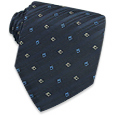 Click Here for More information or to Buy online Blue Diamonds Jacquard Silk Tie