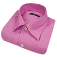 Click Here for More information or to Buy online Cyclamen Solid Cotton Dress Shirt
