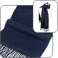 Click Here for More information or to Buy online Extra-Soft Dark Blue Cashmere Long Scarf