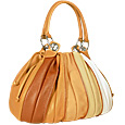 Click Here for More information or to Buy online Tulip - Beige to Brown Leather Drawstring Ring Tote