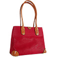 Click Here for More information or to Buy online Life - Red Micro-Suede Shoulder Bag