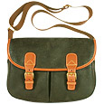Click Here for More information or to Buy online Life - Olive Micro-Suede Messenger Shoulder Bag
