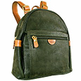 Click Here for More information or to Buy online Life - Olive Micro-Suede and Leather Backpack