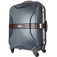 Click Here for More information or to Buy online Pininfarina-Gray Hardside 4-wheel Compact Trolley