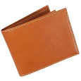 Click Here for More information or to Buy online Life - Tobacco Leather Billfold Wallet
