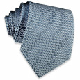 Click Here for More information or to Buy online Signature Monogram Light Blue Silk Tie