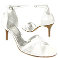 More information or Buy online White Crisscross Ankle-Strap Sandal Shoes