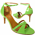 More information or Buy online Green Crisscross Ankle-Strap Sandal Shoes