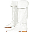 More information or Buy online White Knee-High Pointy Boots