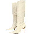 More information or Buy online Beige High-Heel Suede Boots