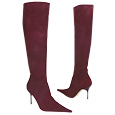 More information or Buy online Plum High-Heel Suede Boots
