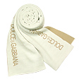 Click Here for More information or to Buy online Cream/Beige Signature Knit Long Scarf