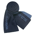 Click Here for More information or to Buy online Two-tone Blue Logoed Knit Long Scarf