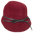 Click Here for More information or to Buy online Ladies' Small Felt Cloche with Ribbon