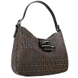 Click Here for More information or to Buy online Brown and Black Zucchino Hobo Bag