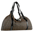 Click Here for More information or to Buy online Sporty Brown & Black Zucchino Large Bag