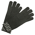 Click Here for More information or to Buy online Charcoal/Gray Zucchino Knit Wool Gloves