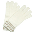 Click Here for More information or to Buy online White/Beige Zucchino Wool Gloves