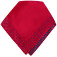 Click Here for More information or to Buy online Wine Red Signature Jacquard Silk Pocket Square