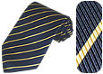Click Here for More information or to Buy online Woven Silk Stripes Tie