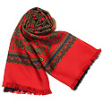 Click Here for More information or to Buy online Paisley Red Reversible Wool-Silk Men's Scarf