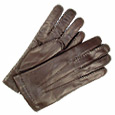 More information or Buy online Men's Dark Brown Italian Leather Gloves