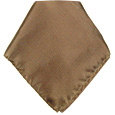 Click Here for More information or to Buy online Brown Silk Pocket Square
