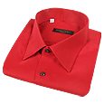 Click Here for More information or to Buy online Dramatic Red Pure Silk Dress Shirt