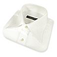 Click Here for More information or to Buy online White Embroidered Cotton Dress Shirt