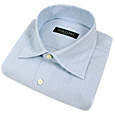 Click Here for More information or to Buy online Baby Blue Micro-embossed Cotton Dress Shirt