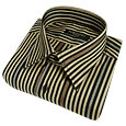 Click Here for More information or to Buy online Sand Striped Slim Cotton Dress Shirt