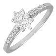 Click Here for More information or to Buy online 18K White Gold Diamond Ring
