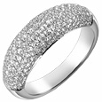 Click Here for More information or to Buy online 18K White Gold Diamond Pave' Band