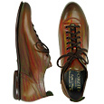 More information or Buy online Handcrafted Multicolor Leather Lace-up Shoes