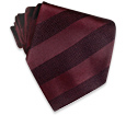 Click Here for More information or to Buy online 'Bluebird' Burgundy Diagonal Textured Silk Tie