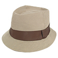 Click Here for More information or to Buy online Leather and Canvas Bucket Hat