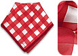 Click Here for More information or to Buy online Red and White Bandana