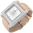 Click Here for More information or to Buy online Beige Swarovski Crystal Watch