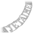 Click Here for More information or to Buy online Je t'aime Swarovski Crystal Bracelet
